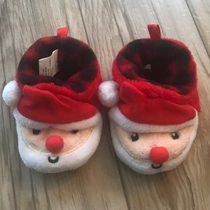 🐳 NWOT Infant Santa Clause Christmas Slippers